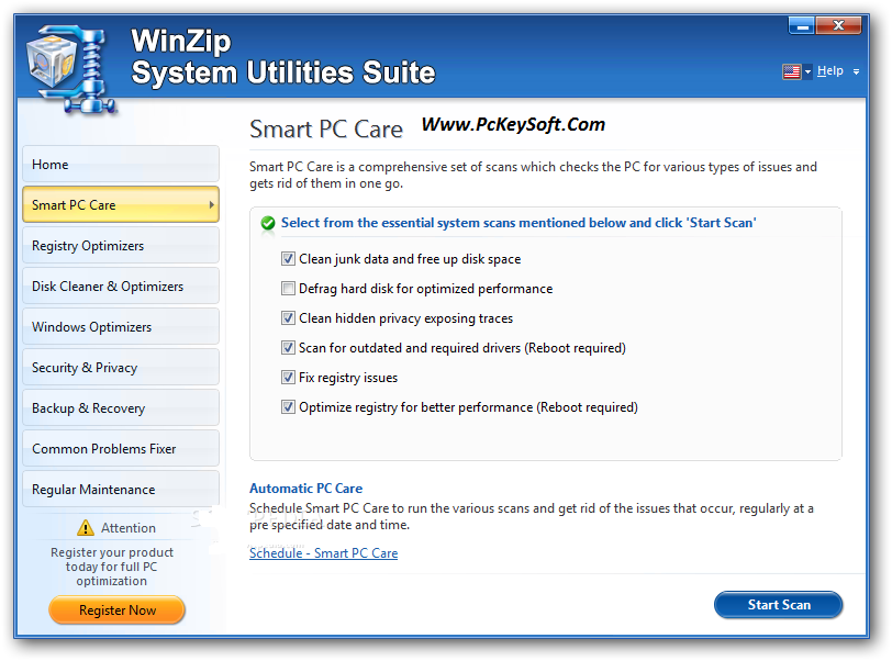 WinZip System Utilities Suite Key Crack Download Patch Full Version