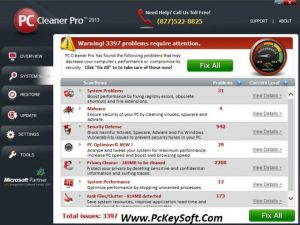 PC Cleaner Pro License Key Free Download Full Version