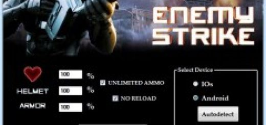 Enemy Strike Hack Cheat Tool