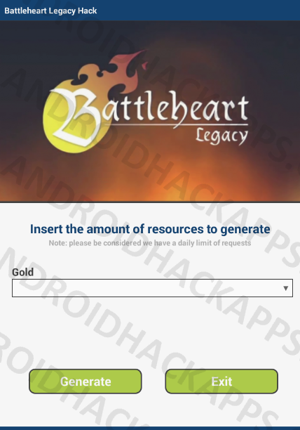 Battleheart Legacy Hack APK Gold