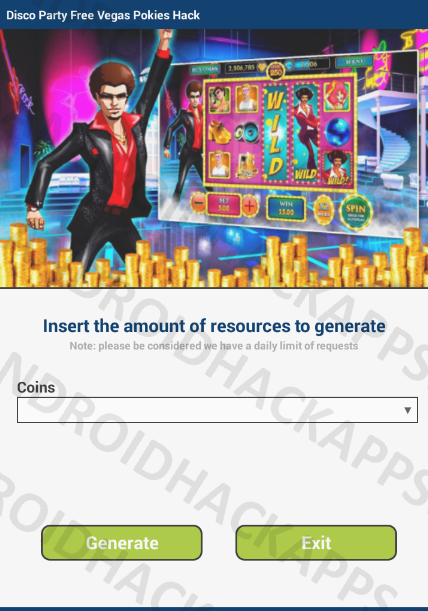 Disco Party Free Vegas Pokies Hack APK Coins