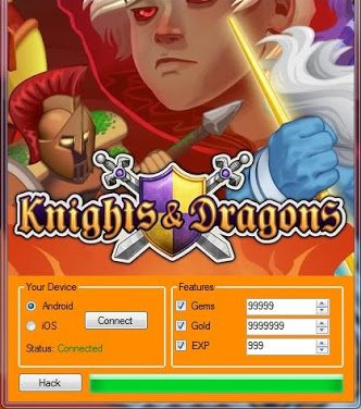 Knights And Dragons Hack Tool ios/Android