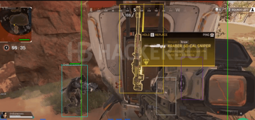 Apex Legends Wallhack Show NickNames – on/off naming labels 2