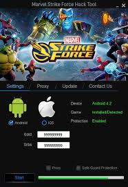 Marvel Strike Force Hack & Cheats (Unlimited Power Cores and Gold)2