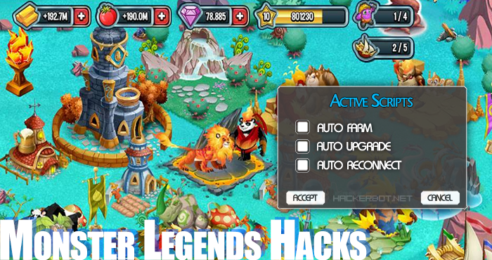 Monster Legends Hack & Cheats Tool – Free Gems and Gold
