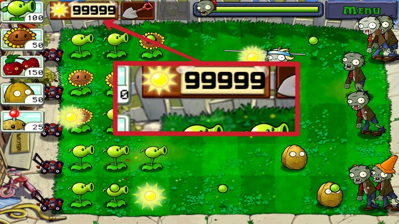 Plants vs zombies Cheats & Hack ( Unlimited Coins and Gems)2