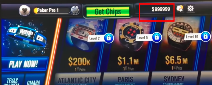 Wsop Free Chips Cheat