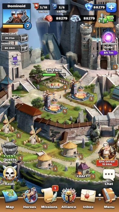 Empires and Puzzles hack Gems generator