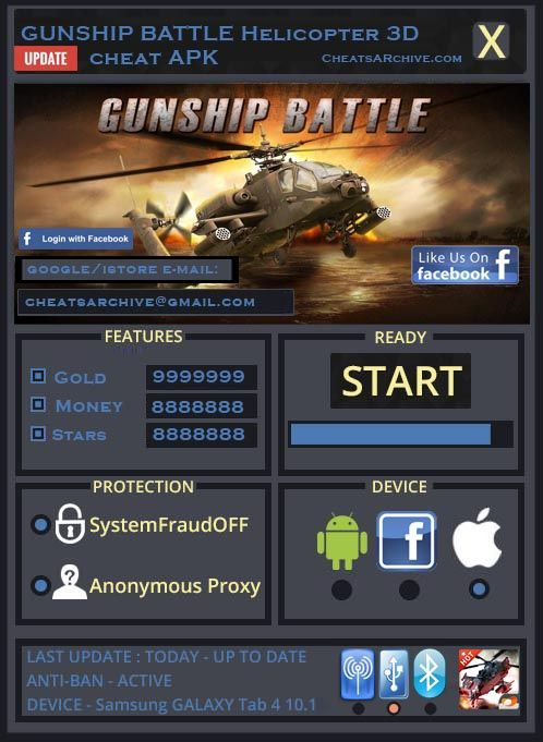 Gunship Battle Hack Free Gunship Battle Unlimited Gold Bot Is Here