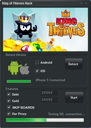 King of Thieves Hack Tool Working