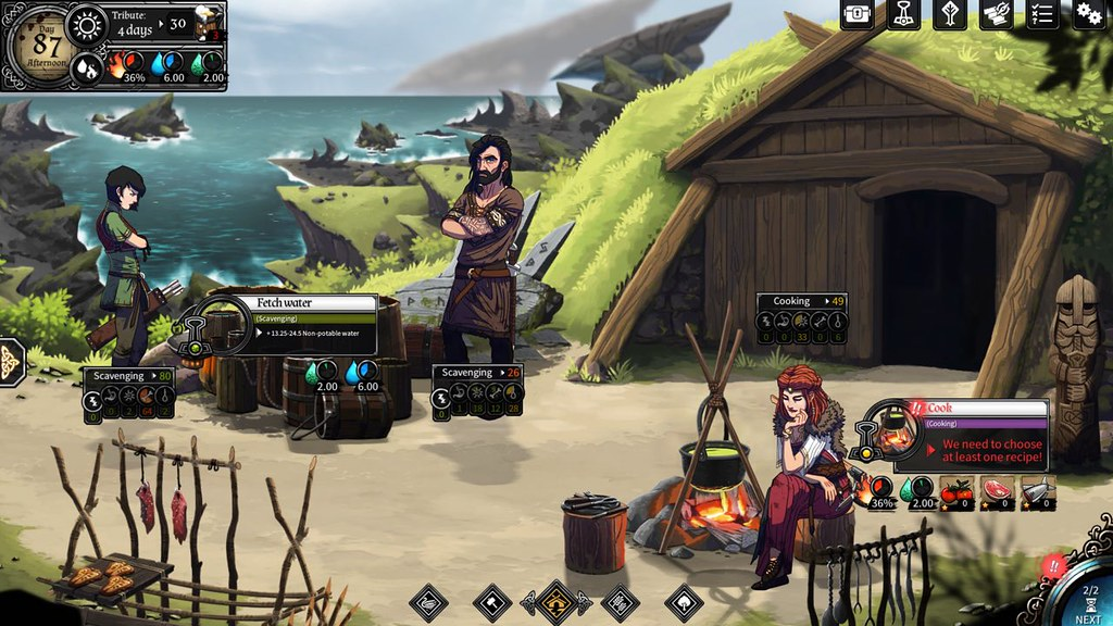 Dead In Vinland 1.3 MAC DEAD IN VINLAND is a survival/administration sport, combined with RPG and journey parts, a few Viking household attempting their greatest to survive on a mysterious island.