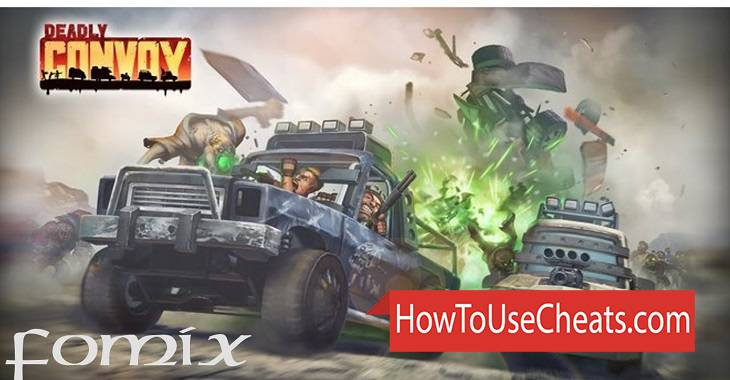 Deadly Convoy how to use Cheat Codes and Hack Gold