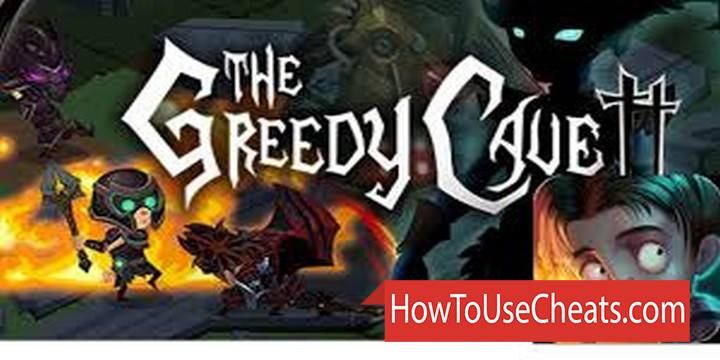 The Greedy Cave 2 how to use Cheat Codes and Hack Gold, Runes and Diamonds