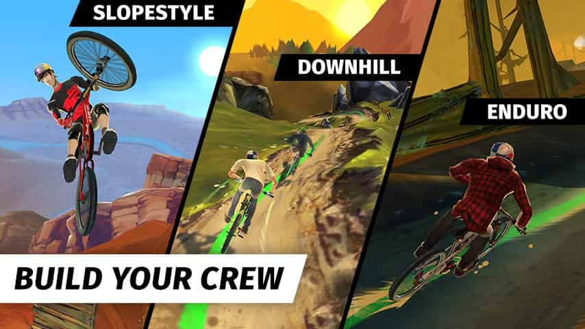 Bike Unchained Mod Apk + Data 1.195 (Increased Speed) Direct