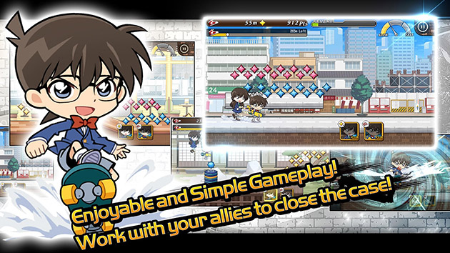Case Closed Runner: Race to the Truth 1.2.10 APK 2
