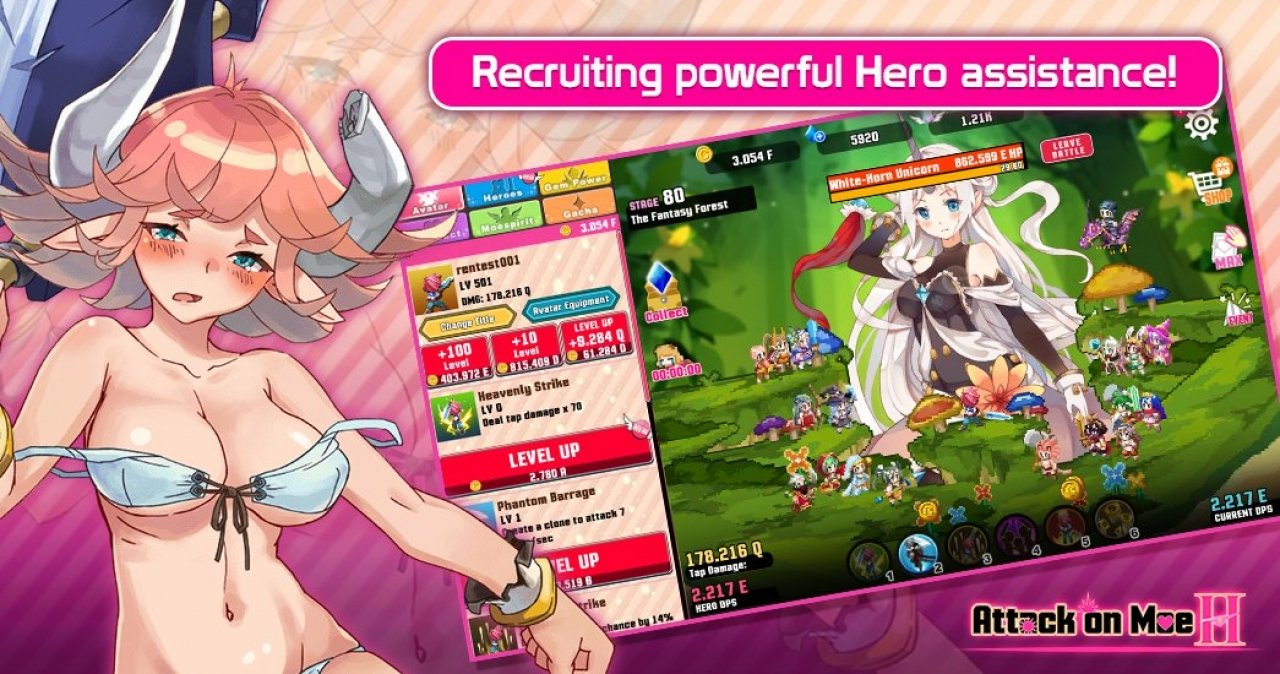 Attack On Moe H MOD APK