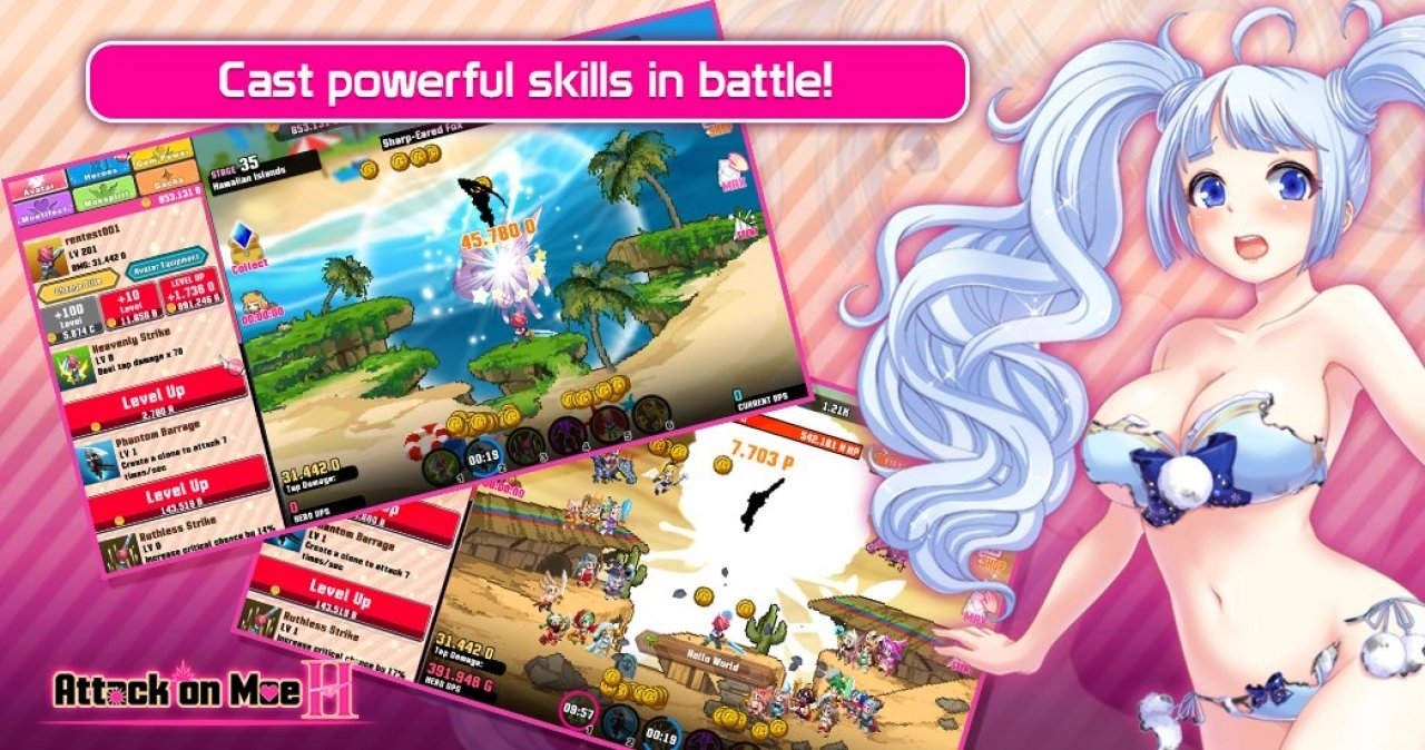 Attack On Moe H MOD APK 2