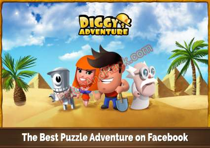 Diggy's Adventure Patch and Cheats gold, coins, Gems