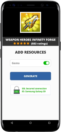 Weapon Heroes Infinity Forge MOD APK Unlimited Gems