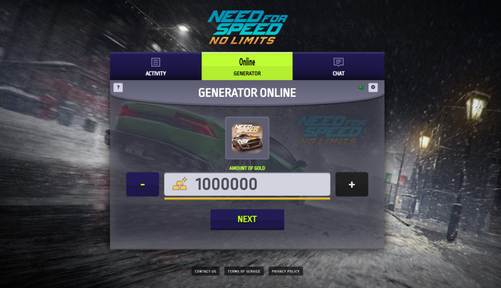 Need for Speed No Limits Hack Mod [No Limits Gold and Cash]